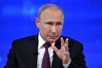 Путин заявил, что Зеленский не может обеспечить разведение сил на Донбассе