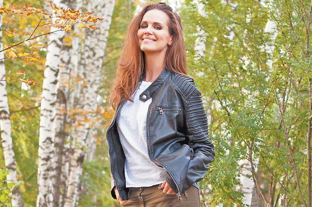 «Я обожаю гулять впарке «Северное Тушино» влюбое время года»,– говорит популярная актриса Наталья Лесниковская.