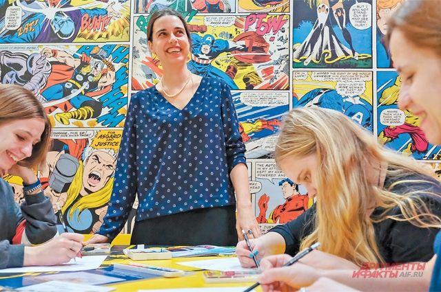 Рисовать комиксы может каждый, уверена автор нового курса Варвара Леднёва.