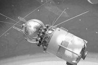 Первый в мире космический корабль «Восход-1».