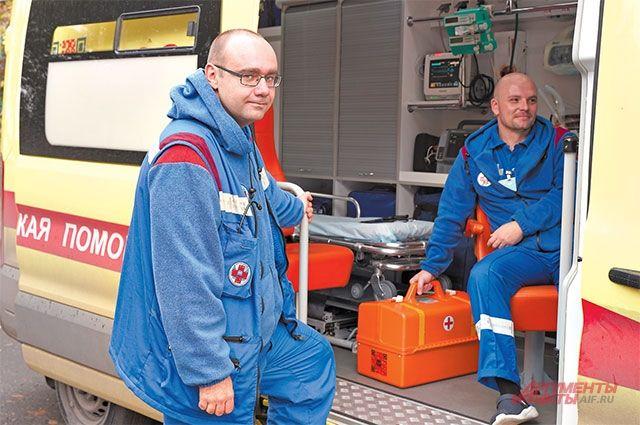 Специализированная реанимационная бригада на строгинской подстанции скорой помощи появилась 2 года назад.