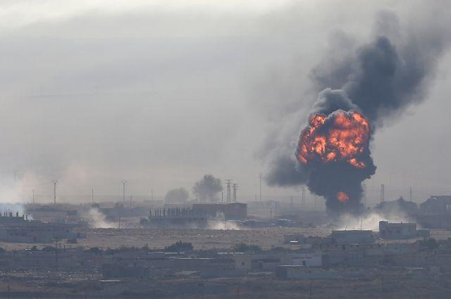 СМИ: в результате турецкого авиаудара погибли 11 мирных жителей