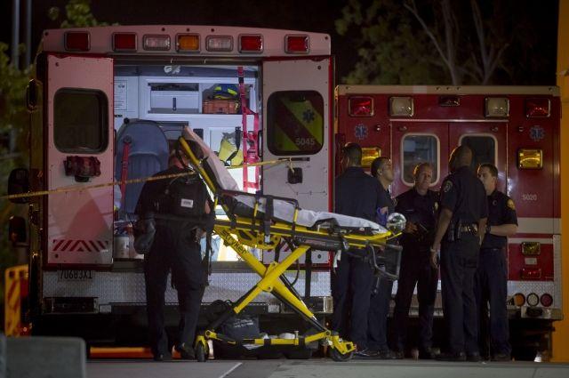 В Филадельфии неизвестный начал стрелять по прохожим и ранил шесть человек