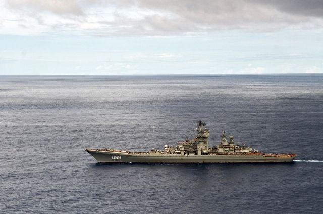 Конгрессмен поздравил ВМС США картинкой с российским крейсером