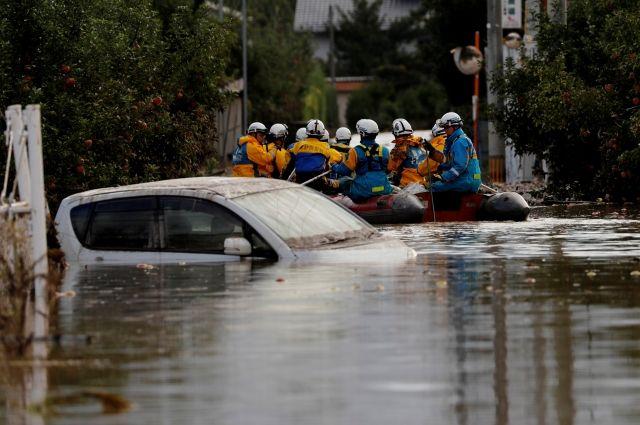 Количество жертв тайфуна «Хагибис» в Японии достигло 40 человек