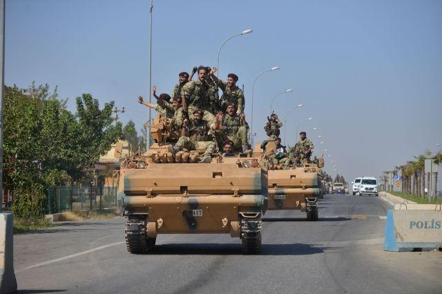 СМИ: сирийские военные вошли в подконтрольный курдам город Табка