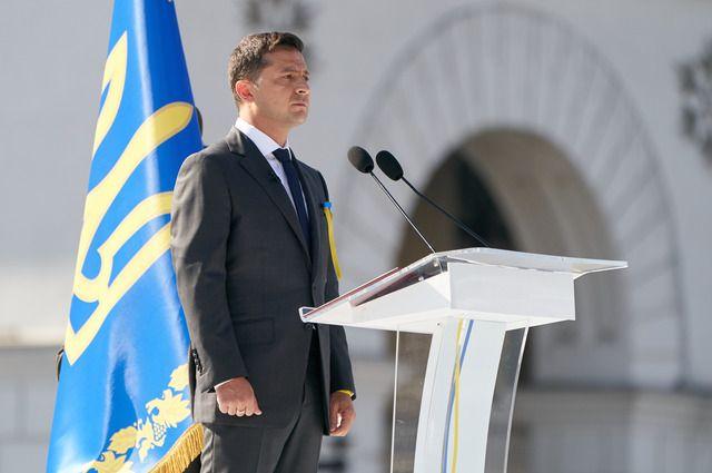 Зеленский призвал украинцев «не создавать картинку» для российского ТВ