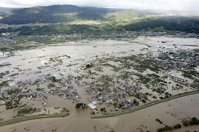 Последствия тайфуна «Хагибис» в Японии