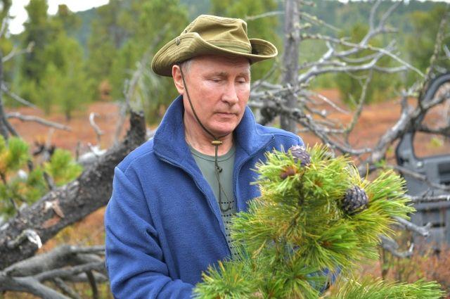 В Сибирь на отдых Владимир Путин приехал первый раз в 2007 году.