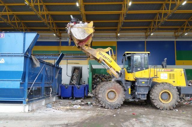 В Тюмени на мусоросортировочном заводе из-за мины провели эвакуацию