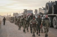 Турецкая армия в Сирии.