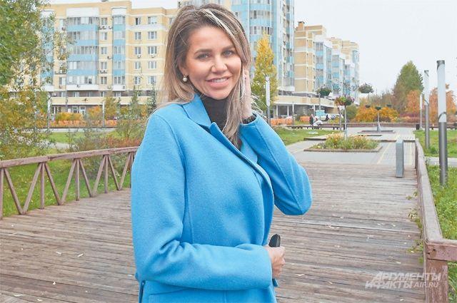 Елена Шаламова своих будущих детей планирует воспитывать только в родном Куркине.