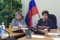 И.о. министра социального развития области Татьяна Самохина провела брифинг для представителей СМИ.