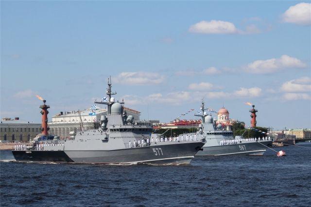 Советск взял шефство над одноимённым ракетным кораблём