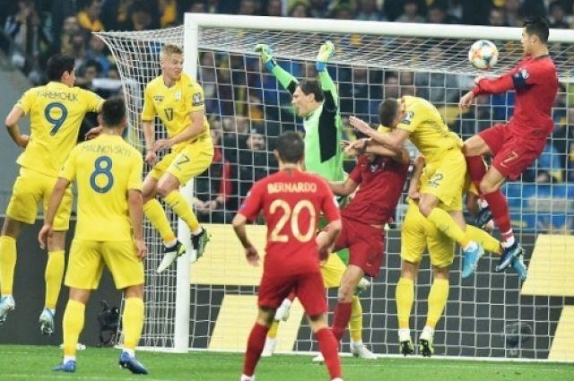Выход в Евро 2020: Сборная Украина одержала победу над Португалией