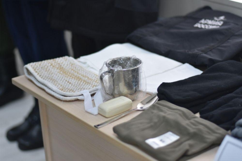 Кружка, ложка, полотенце, мочалка и мыло - что ещё нужно для счастливых армейских будней?