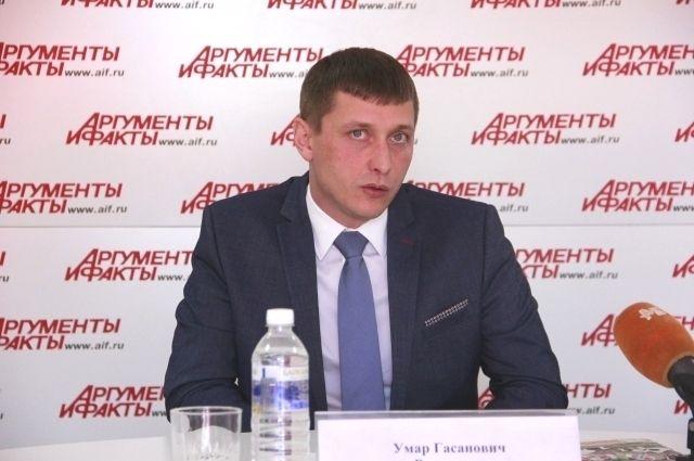 Умар Рамазанов.