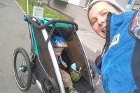 Мама с годовалым сыном посетили три страны Прибалтики.