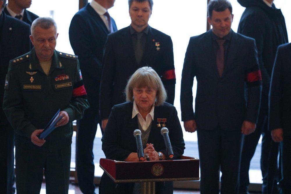 Заместитель председателя комитета Государственной Думы РФ по обороне, летчик-космонавт Светлана Савицкая.