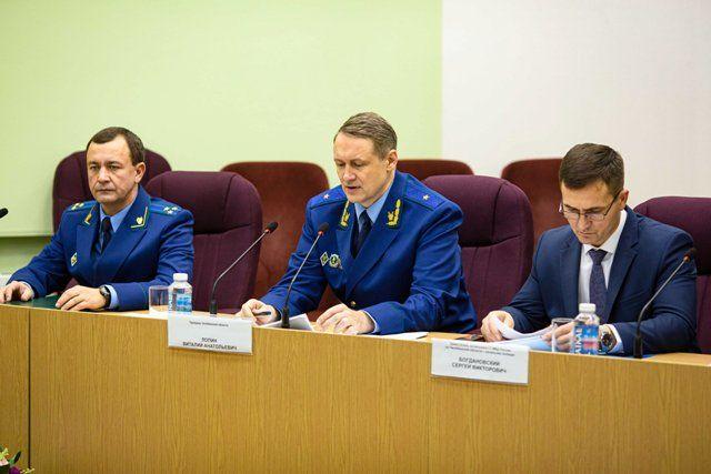 Совещание по проблеме долгов по оплате газа прошло в прокуратуре.