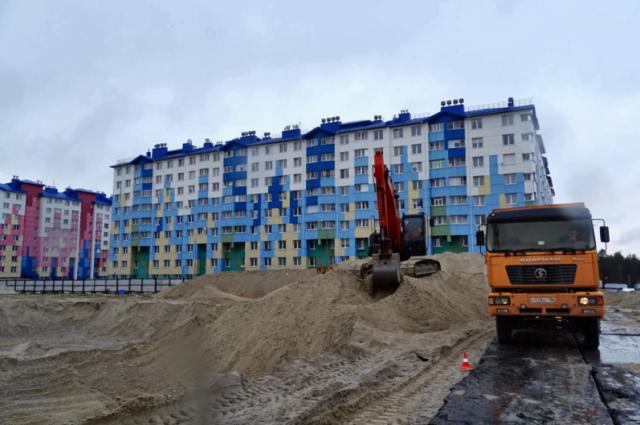 В Ноябрьске началось строительство третьего в 2019 году детского сада