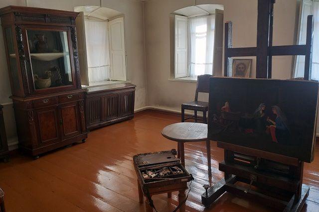 В Мемориальном доме-музее К. Хетагурова во Владикавказе воссоздана обстановка тех лет