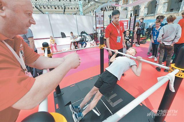 Так проходит тестирование детей, по итогам которого можно получить рекомендации по выбору спортивной секции.