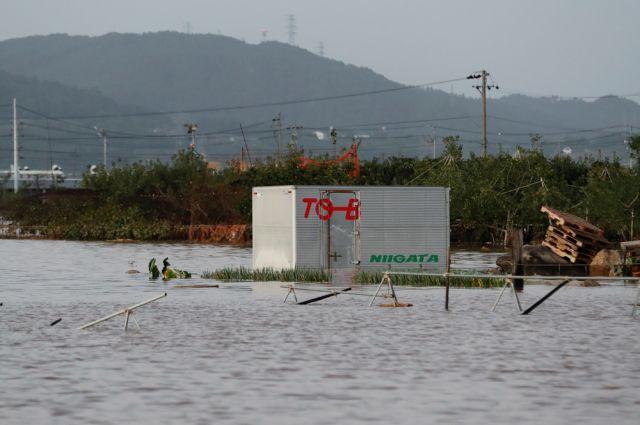 Число погибших в результате тайфуна «Хагибис» в Японии возросло до 74