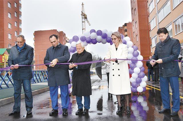 Церемония вручения ключей прошла 14 октября.