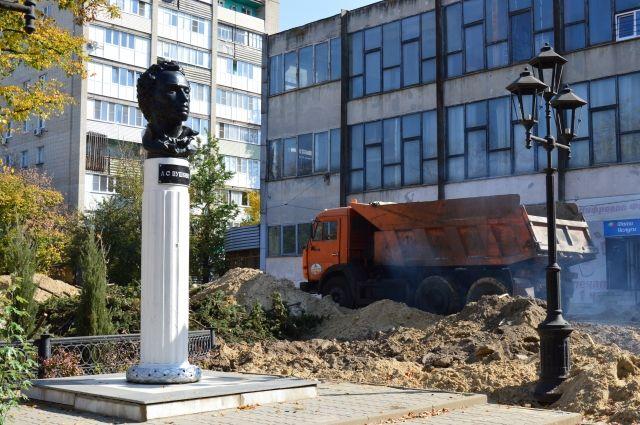 Так выглядит сейчас любимый бульвар азовчан.