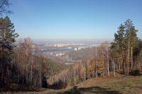 В самый теплый день октября воздух в Красноярске прогрелся почти до +21 градуса.
