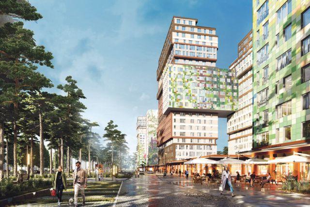 Ещё на стадии проекта жилой комплекс был отмечен специальной номинацией Союза архитекторов России «За лучшее архитектурное решение застройки квартала» (Зодчество VRN, май, 2019).