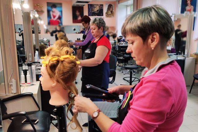 Компетенция «парикмахерское искусство» у предпенсионерок пользуется наибольшей популярностью.