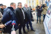 Объезд начался с посещения «КБУ Коминтерновского района».
