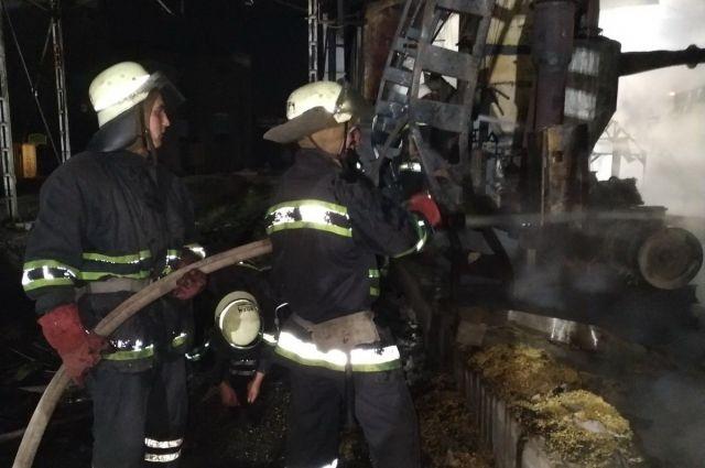 ЧП в Харькове: на территории пивзавода произошел пожар