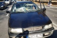 ДТП в Харькове: автомобиль наехал на женщину с двумя детьми