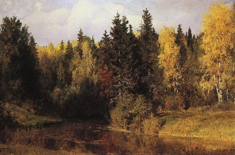 Осень в Абрамцеве. 1890