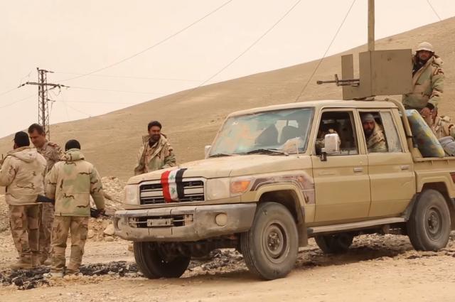 Сирийские военные вошли в город на границе с Турцией
