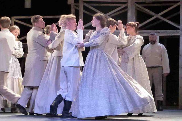 Театральный сезон откроет спектакль «Август. 1854».