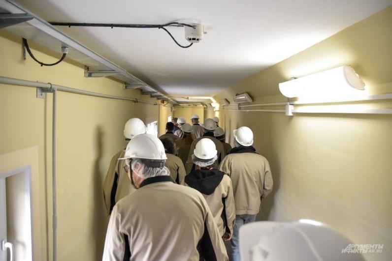 Лабиринты четвертого энергоблока БАЭС.