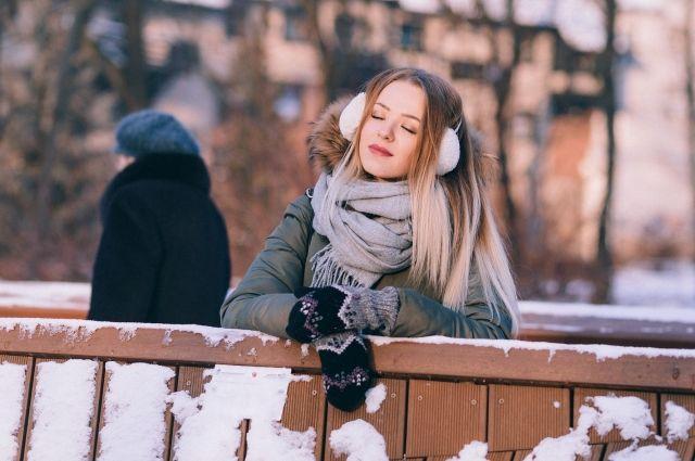 Жители Ноябрьска активно обсуждают в соцсети выпадение первого снега