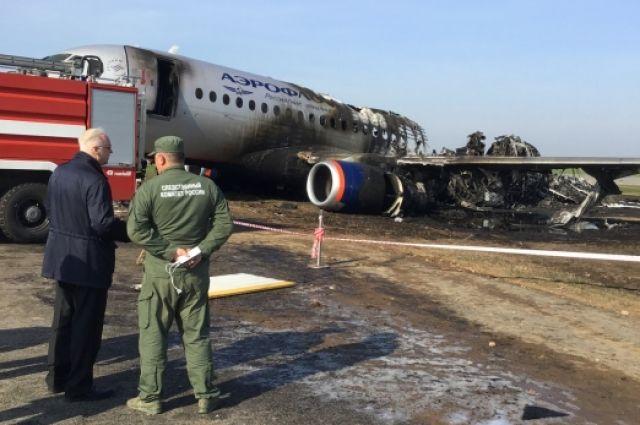 В СКР назвали главную причину гибели пассажиров SSJ-100 в Шереметьево