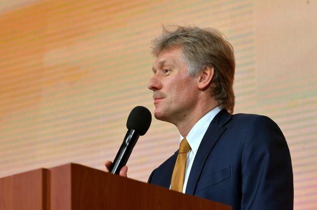 Песков прокомментировал снятие с поезда американских дипломатов