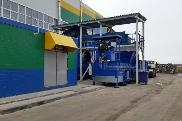 В Тюмени мусоросортировочный завод модернизирует производственные процессы