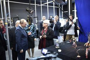 Путин посмотрел во ВГИК класс-концерт студентов выпускного курса института