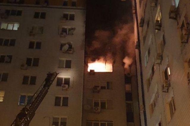 Масштабный пожар в многоэтажке в Киеве: жертв и пострадавших нет
