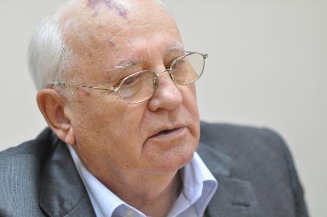 Экс-президент СССР Горбачев обратился к главе РФ Владимиру Путину