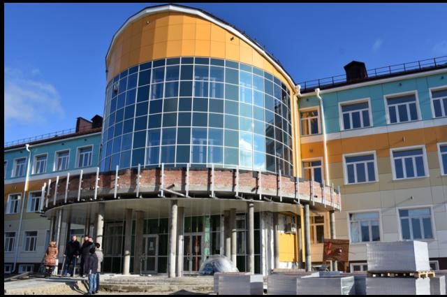 В Губкинском в школе №5 появится тир и класс для монтажа фильмов