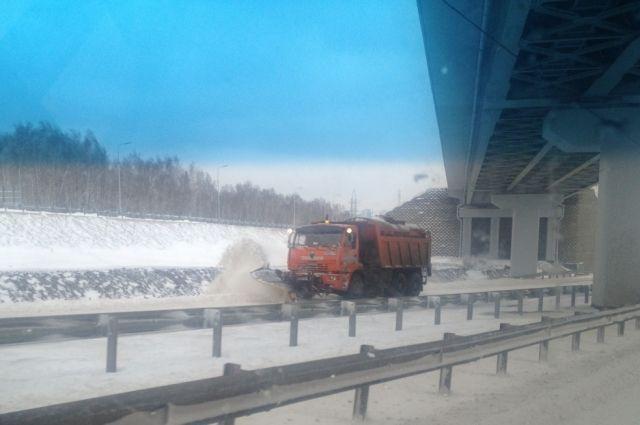 Новосибирск подготовили к зиме