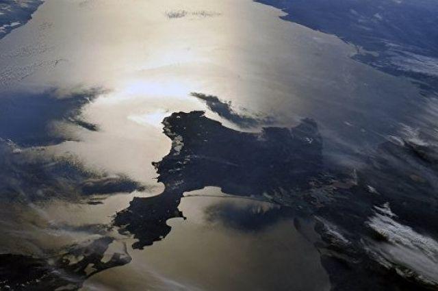 Фото Крыма из космоса.